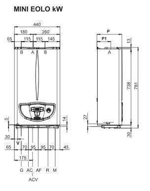 Immergas mini eolo 24 kw pl kotel plynov kotle ferroli for Caldaia immergas eolo mini 24 kw