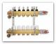 PV rozdělovač  5-okruhů s průtokoměry