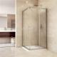 Sprchový kout čtverec, Mistica,90 cm