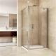 Sprchový kout obdélník 100x80