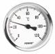Teploměr 100/40 0-120°C s jímkou 1/2