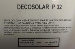 Decosolar P32 10L solární kapalina