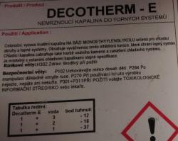 Decotherm 10L nemrzn.směs do radiátoru