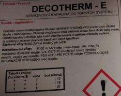 Decotherm 5L  kapalina do radiátoru