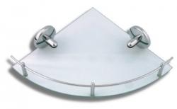 Metalia 1 6158.0 rohová polička s záb