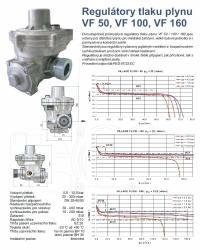 Regulátor plynu VF50