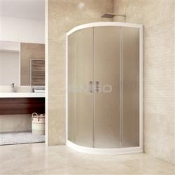 Sprchový kout čtvrtkruh 100x100R550grape