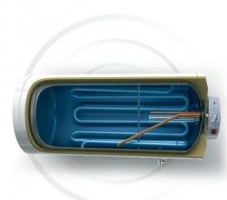 TESY 80 l H kombinovaný ohřívač stand