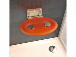 sedátko do sprchy OVO-P orange