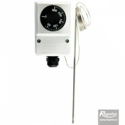 termostat příložný 0-300C s odd. čidlem